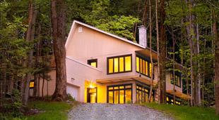 Villa Orfie la nuit - Le Vertendre