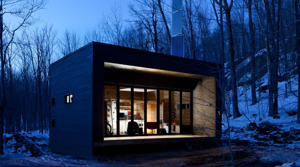 acheter un refuge ou un chalet de luxe en estrie le. Black Bedroom Furniture Sets. Home Design Ideas